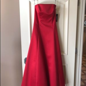 Stunning Classy Red Prom Dress